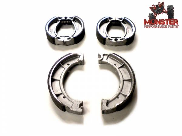 Monster Performance Parts - Monster Brakes Set of Brake Shoes replacement for Yamaha 4BD-W2536-00-00, 4BE-W2536-00-00