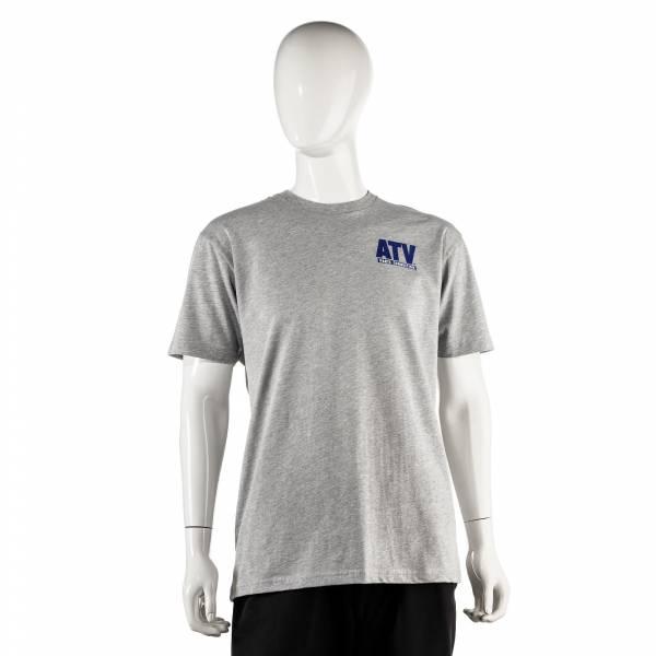 ATV Parts Connection - ATV Parts Connection XXL Gray Premium Fitted Short-Sleeve Crew Shirt