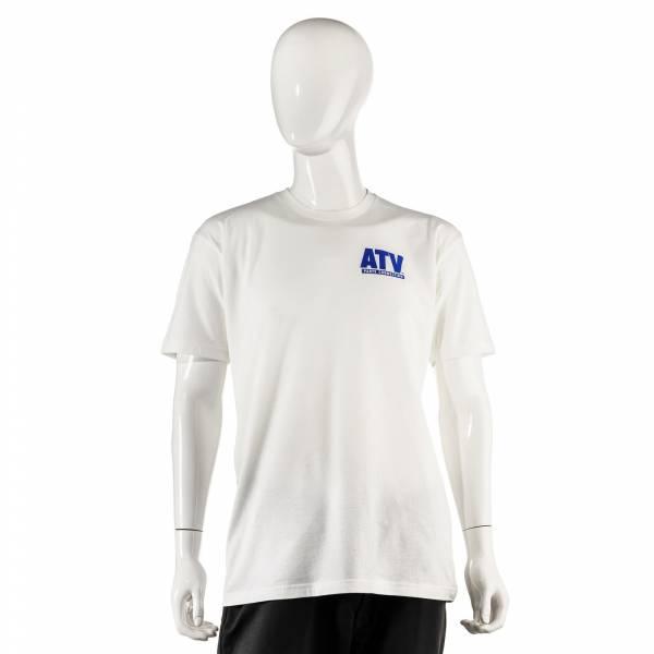 ATV Parts Connection - ATV Parts Connection XXL White Premium Fitted Short-Sleeve Crew Shirt