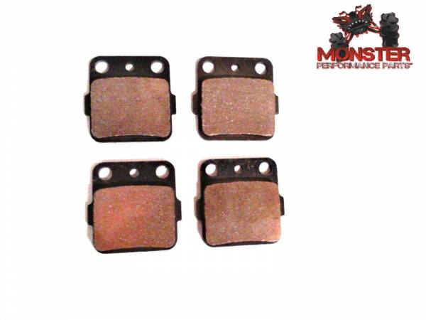 Monster Performance Parts - Monster Brakes Pair of Brake Pads replacement for Yamaha 3GD-W0045-00-00, 3GD-W0045-01-00