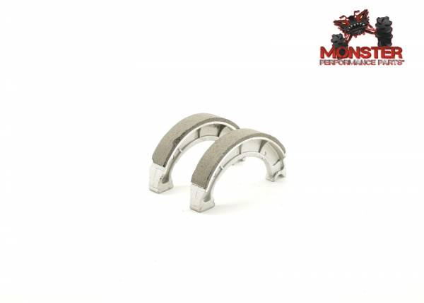 Monster Performance Parts - Monster Brakes Rear Brake Shoes for Yamaha 4BD-W2536-00-00, 4BD-W2536-01-00