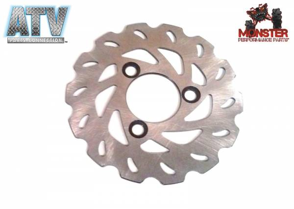 ATV Parts Connection - Monster Brakes Front Rotor for Suzuki 59211-45G00