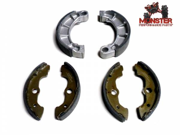 Monster Performance Parts - Monster Brakes Set of Brake Shoes replacement for Honda 06430-HN0-A20, 06450-HC5-405