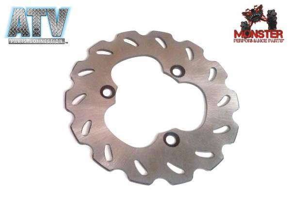 ATV Parts Connection - Monster Brakes Rear Rotor for Suzuki 69211-45G00