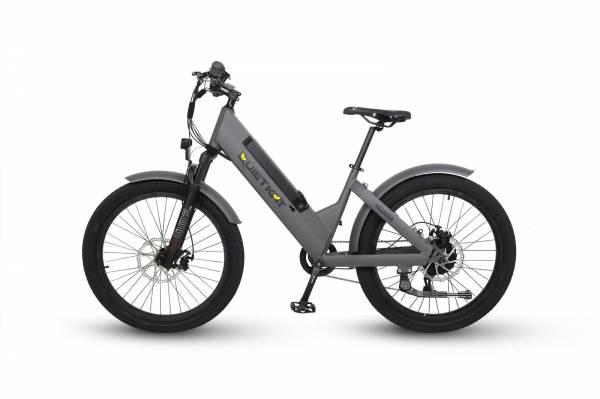 QuietKat - 2020 QuietKat Villager 500 Watt Charcoal Electric Bike