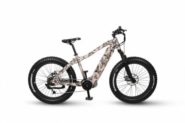 """QuietKat - 2020 Quietkat Warrior 750 Watt 17"""" Frame Electric Bike"""