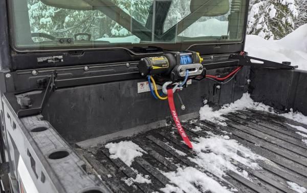 Aprove - Aprove Cruiser Bed Winch Mount for Polaris Ranger XP 900 & Ranger XP 1000