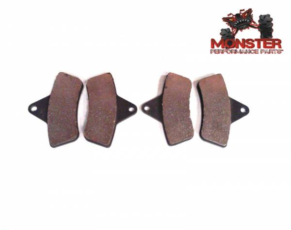 Monster Performance Parts - Monster Brakes Front Pair of Pads replacement for Arctic Cat 0402-096, 0402-882, 0502-019