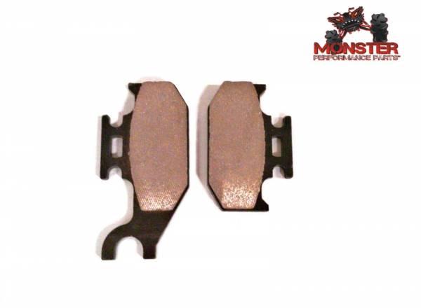 Monster Performance Parts - Monster Brakes Rear Brake Pads for Yamaha 5UG-W0046-00-00, 5UG-W0046-01-00