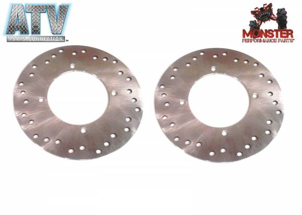 ATV Parts Connection - Monster Brakes Rear Pair Rotors replacement for Polaris 5244635