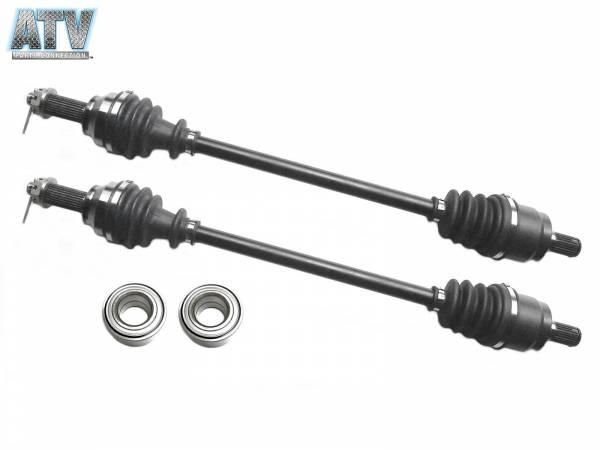 ATV Parts Connection - Rear CV Axles & Wheel Bearings for Honda Pioneer 700 2014 42220-HL3-A01, 42250-HL3-A01, 91056-HL3-A01