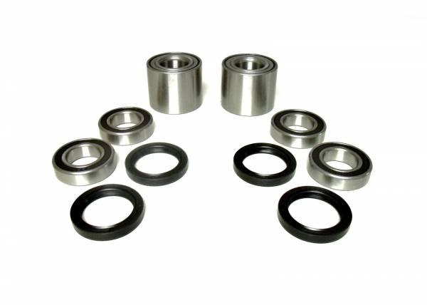ATV Parts Connection - Front & Rear Set Wheel Bearings for Kawasaki Mule 3000 3010 3020 4000 4010