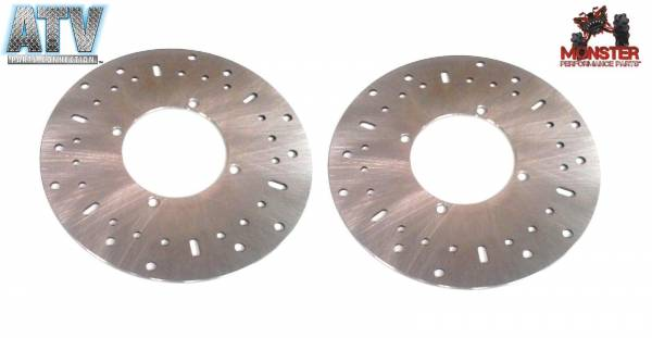 ATV Parts Connection - Pair of Front Brake Rotors for Polaris fits 5244314 Left & Right