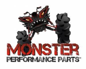 MONSTER AXLES - Monster XP Series Rear CV Axle Shaft for Honda Pioneer 500 4x4 2015-2020 UTV - Image 4