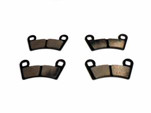 ATV Parts Connection - Monster Brakes Set of Brake Pads replacement for Polaris 2203318, 2202412, 2201398, 5248250 - Image 2