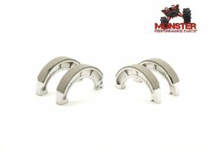 Monster Performance Parts - Monster Brakes Pair of Brake Shoes replacement for Yamaha 4BD-W2536-00-00, 4BD-W2536-01-00 - Image 1