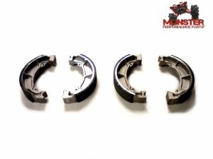 Monster Performance Parts - Monster Brakes Pair of Front Brake Shoes replacement for Kawasaki 41048-1017, 41048-1068 - Image 1