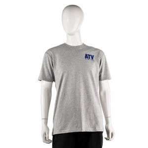 ATV Parts Connection - ATV Parts Connection XXL Gray Premium Fitted Short-Sleeve Crew Shirt - Image 1