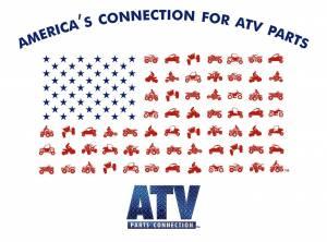 ATV Parts Connection - ATV Parts Connection XXL Gray Premium Fitted Short-Sleeve Crew Shirt - Image 3