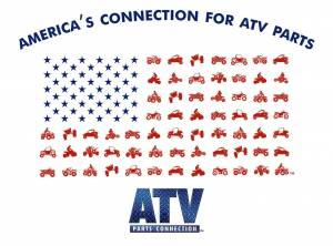 ATV Parts Connection - ATV Parts Connection XXL White Premium Fitted Short-Sleeve Crew Shirt - Image 3
