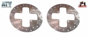 ATV Parts Connection - Monster Brakes Pair Rotors replacement for Can-Am 705600271, 705600604 - Image 1