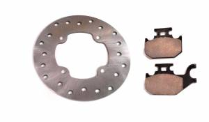 ATV Parts Connection - Monster Brakes Set Rotors & Pads replacement for Can-Am 4x4 705600603, 705600349 705600350 - Image 3
