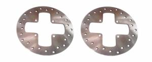 ATV Parts Connection - Monster Brakes Set Rotors & Pads replacement for Can-Am 705600004, 705600014, 705600349 - Image 2