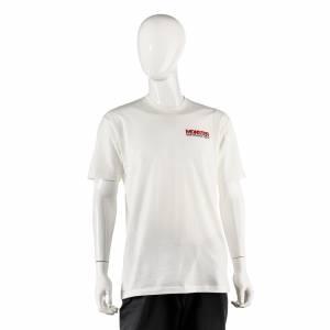 Monster Performance Parts - Monster Performance Parts Medium White Premium Fitted Short-Sleeve Crew Shirt - Image 1