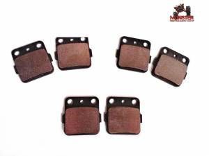 Monster Performance Parts - Monster Brakes Set of Brake Pads replacement for Yamaha 3GD-W0045-00-00, 3GD-W0045-01-00 - Image 1