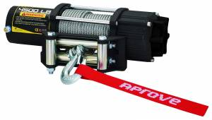 Aprove - Aprove Products 4500 LB Winch with Steel Cable and 4-Way Roller - Image 2