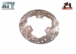 ATV Parts Connection - Monster Brakes Rear Rotor for Polaris 5245716 - Image 1