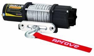 Aprove - Aprove Products 4500 LB Winch with Dyneema Synthetic Rope - Image 2