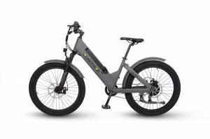 QuietKat - 2020 QuietKat Villager 500 Watt Charcoal Electric Bike - Image 1