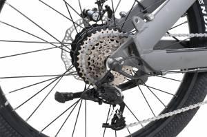 QuietKat - 2020 QuietKat Villager 500 Watt Charcoal Electric Bike - Image 5