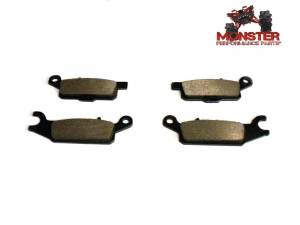 ATV Parts Connection - Monster Brakes Pair of Brake Pads replacement for Yamaha 3B4-W0045-00-00, 3B4-W0045-10-00 - Image 1