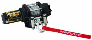 Aprove - Aprove Products 2500 LB Winch with Steel Cable and 4 Way Roller - Image 2