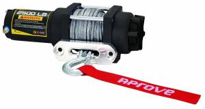 Aprove - Aprove Products 2500 LB Winch with Dyneema Synthetic Rope - Image 2