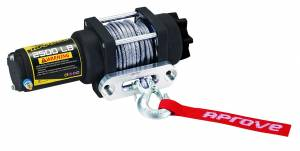 Aprove - Aprove Products 2500 LB Winch with Dyneema Synthetic Rope - Image 3