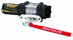 Aprove - Aprove Products 3500 LB Winch with Dyneema Synthetic Rope - Image 2