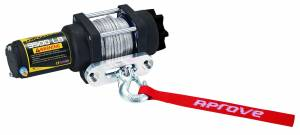 Aprove - Aprove Products 3500 LB Winch with Dyneema Synthetic Rope - Image 3