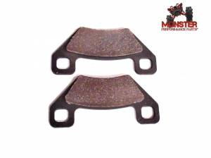 Monster Performance Parts - Monster Brakes Rear Brake Pads for Arctic Cat 1436-420, 1502-694, 1436-165, 1402-929, - Image 1