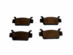 Monster Performance Parts - Monster Brakes Set of Brake Pads replacement for Honda 06451-HP0-A01, 06451-HP0-A02 - Image 2