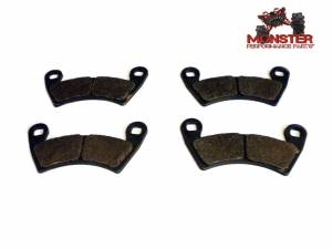 Monster Performance Parts - Monster Brakes Pair of Brake Pads replacement for Polaris 2203747, 2205949 - Image 1