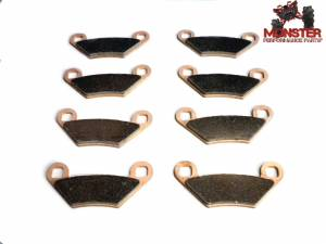 ATV Parts Connection - Monster Brakes Set of Brake Pads replacement for Polaris 2204088 - Image 1