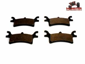 Monster Performance Parts - Monster Brakes Pair Rear Brake Pads replacement for Polaris 2202414 - Image 1