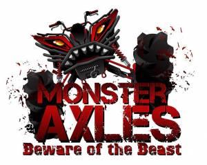 MONSTER AXLES - Monster Axles XP Series Front Axles + Wheel Bearings for Polaris Ranger & RZR 4x4 - Image 6