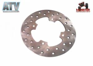 ATV Parts Connection - Monster Brakes Front Rotor for Polaris 5248378 - Image 1