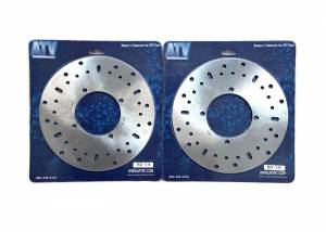 ATV Parts Connection - Pair of Front Brake Rotors for Polaris fits 5244314 Left & Right - Image 2